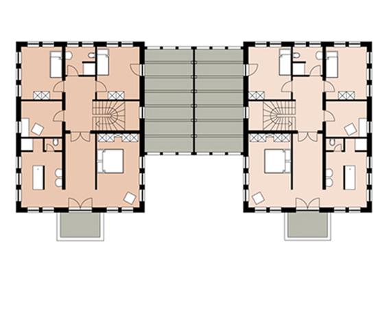 Brands architektur st dtebau wohnen i for Grundriss eingang seitlich